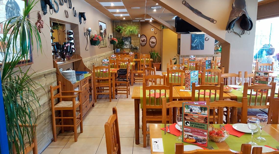 La Foixarda, Restaurante Brasería